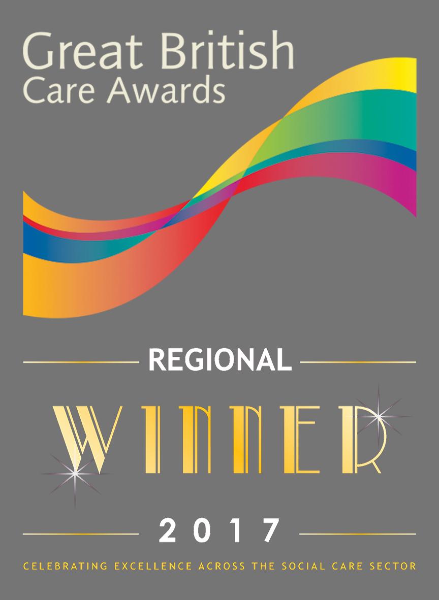 Great British Care Awards - Regional Winner 2017