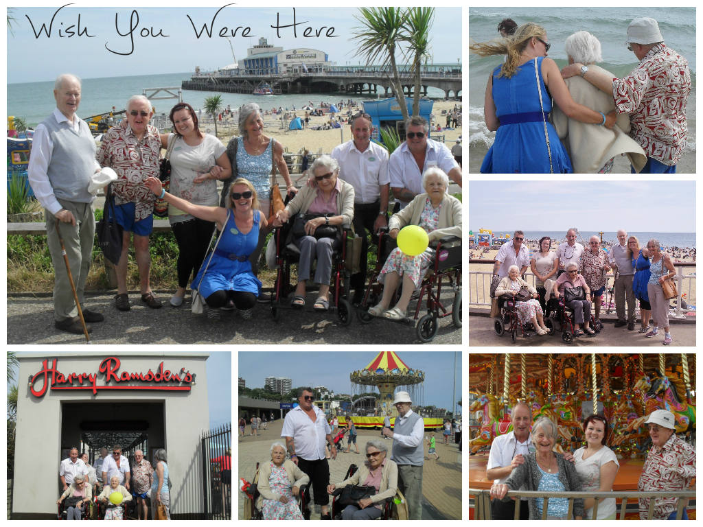 Day Trip to Bournemouth With Bridge House Care Home!