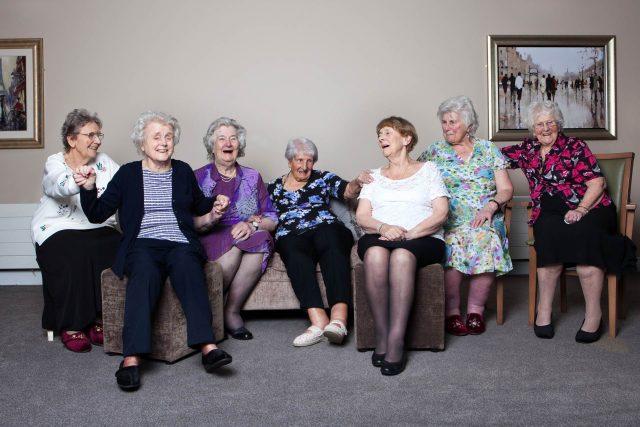 Patients at Bridge House